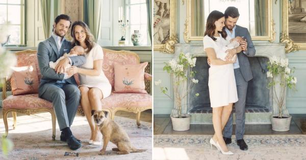 Официјални фотографии од принцот Карл Филип и принцезата Софија со новородениот син