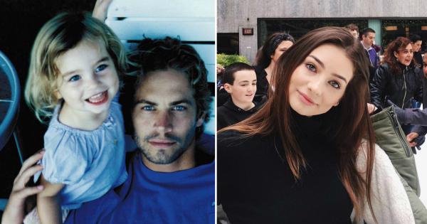 Ќерката на Пол Вокер израсна во убава млада дама