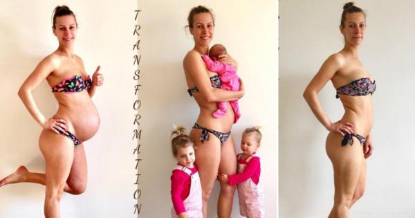 Мајка која се породи пред два месеци и тренира дома