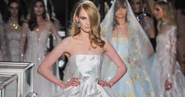 Вака изгледа екстравагантен невестински фустан од