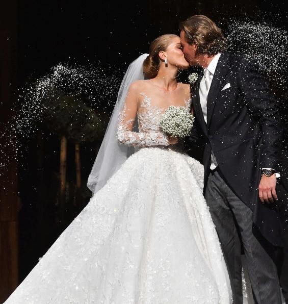 Свадбата на Викторија Сваровски