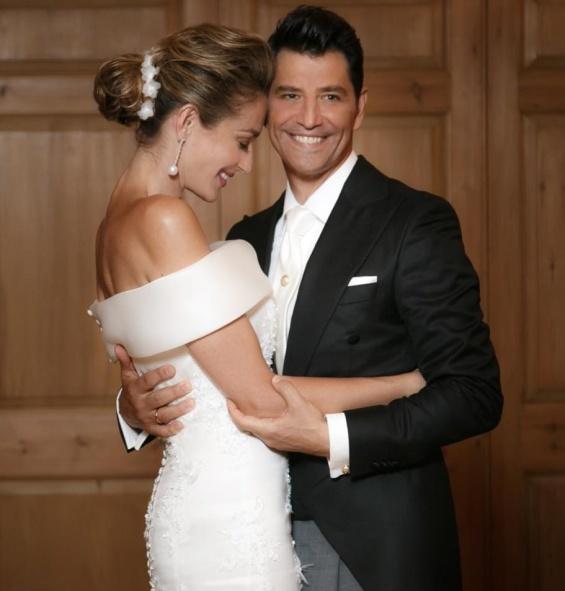 Свадбата на Сакис Рувас и Катја Зигули