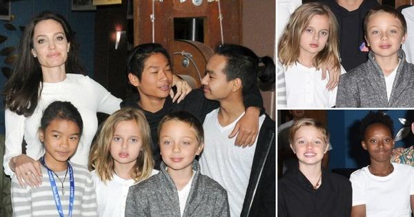 ФОТО: Анџелина Џоли со шесте деца на филмски фестивал