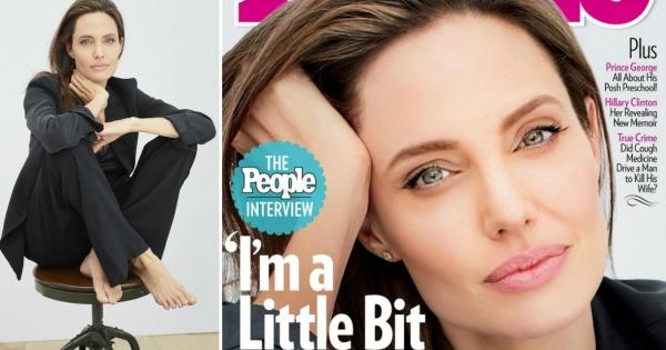 Сега сум малку посилна   Анџелина Џоли зборуваше