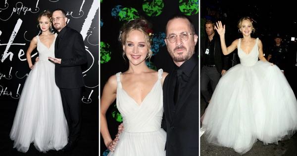 Џенифер Лоренс како принцеза во фустан од Диор на