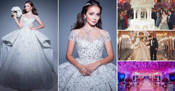 Свадбена магија  Екстравагантна свадба во Москва на