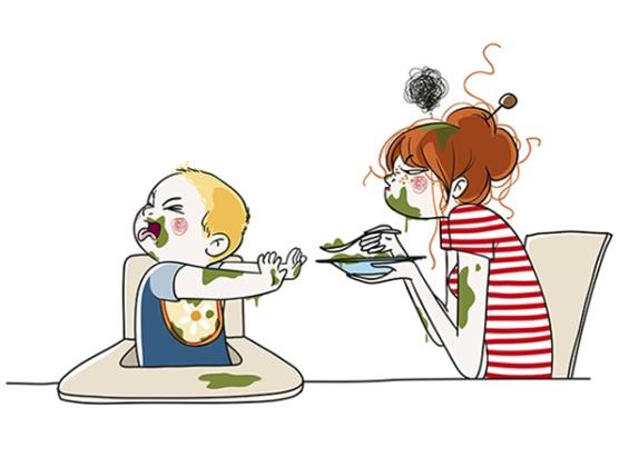 Мајчинството низ илустрации