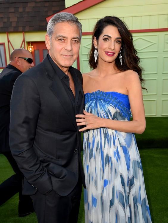 Џорџ и Амал Клуни