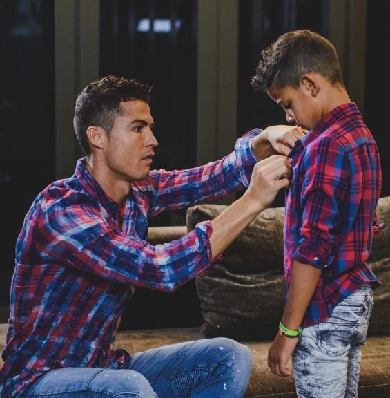 Кристијано со синот