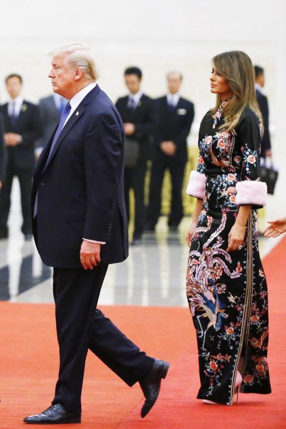 Меланија Трамп и Марго Роби