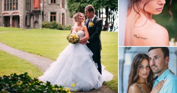 Свадбено видео кое разнежнува  Љубов родена во