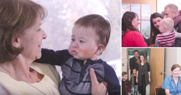 Емотивно видео  Родители со дечиња кои биле родени