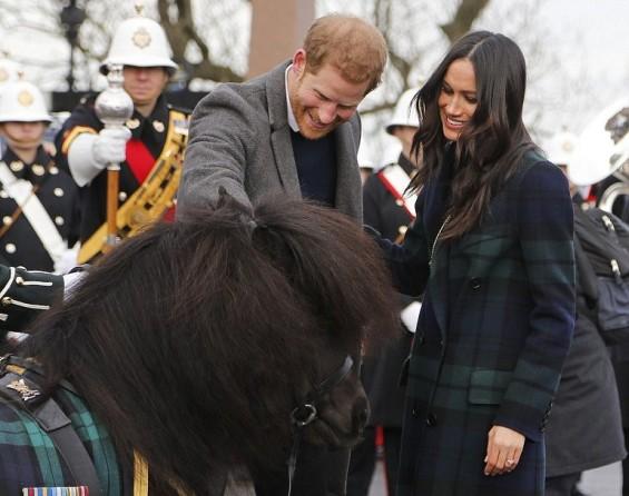 Меган Маркл и принцот Хари