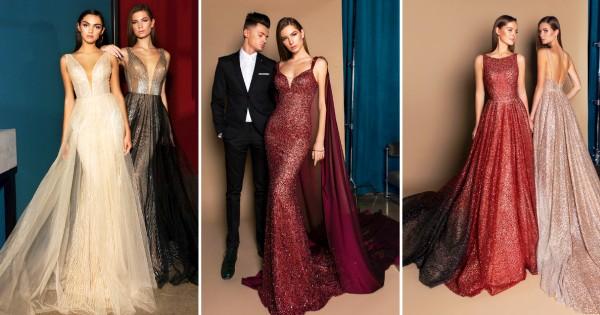 Деликатна елеганција  Свечени фустани од Crystal Design