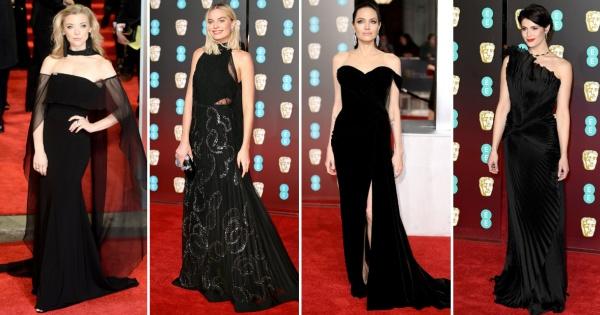 Нов протест во црно  Модата на црвениот тепих на BAFTA