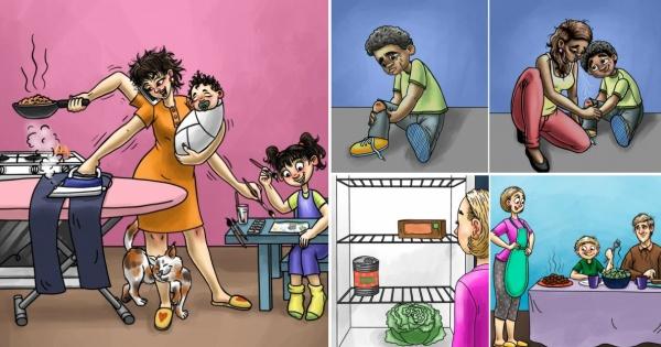 Супер моќите на мајките низ вистинити илустрации