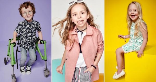 Дечиња со посебни потреби се ѕвезди во модна
