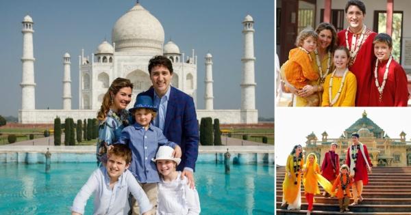 Канадскиот премиер Џастин Трудо со сопругата и