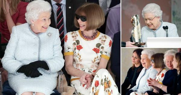 Модно изненадување  Кралицата Елизабета на ревија