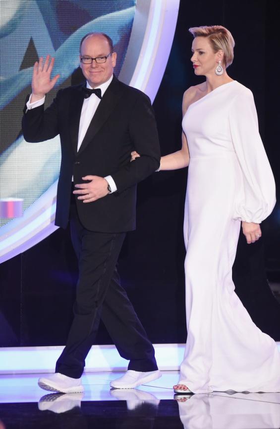 Принцот Алберт и принцезата Шарлин