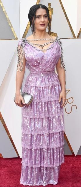 Салма Хајек во Gucci