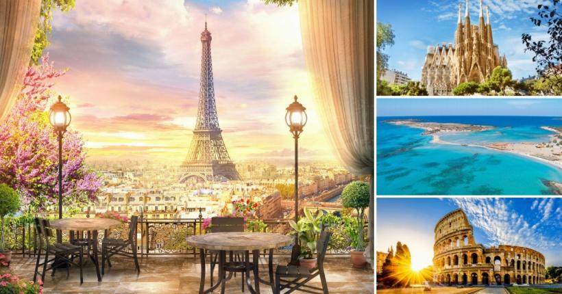 Париз на прво место  Ова се топ 10 дестинации за 2018