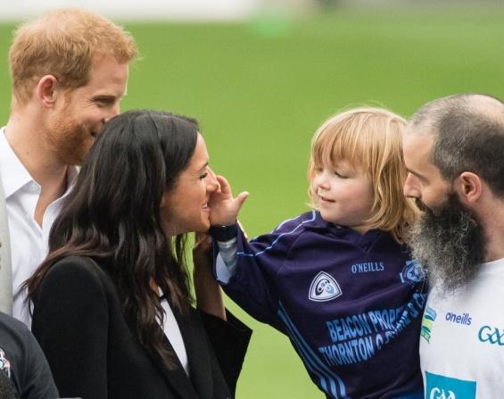 Меган и Хари во Ирска