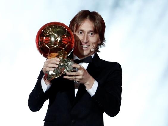 Лука Модриќ - Златна топка