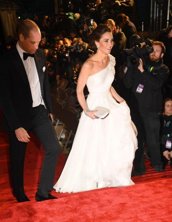 Во�вотката Кетрин и принцот Вили�ам на BAFTA