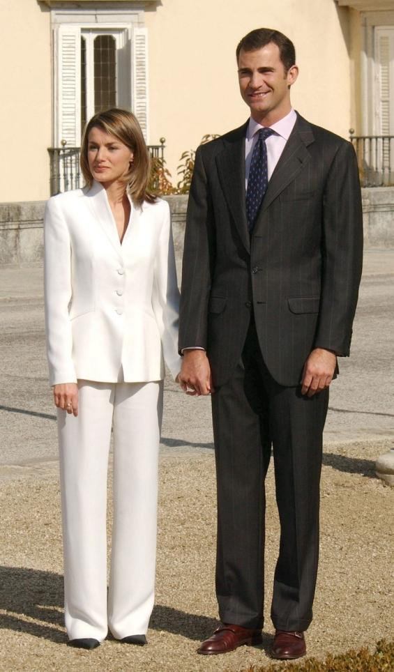 Летици�а и Фелипе во 2003 година
