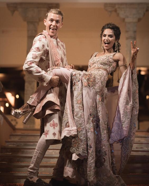 Свадбата на Дипа Косла и Олег Булер