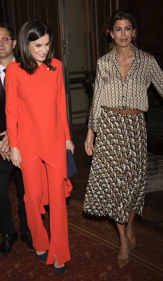 Кралицата Летици�а и првата дама на Аргентина