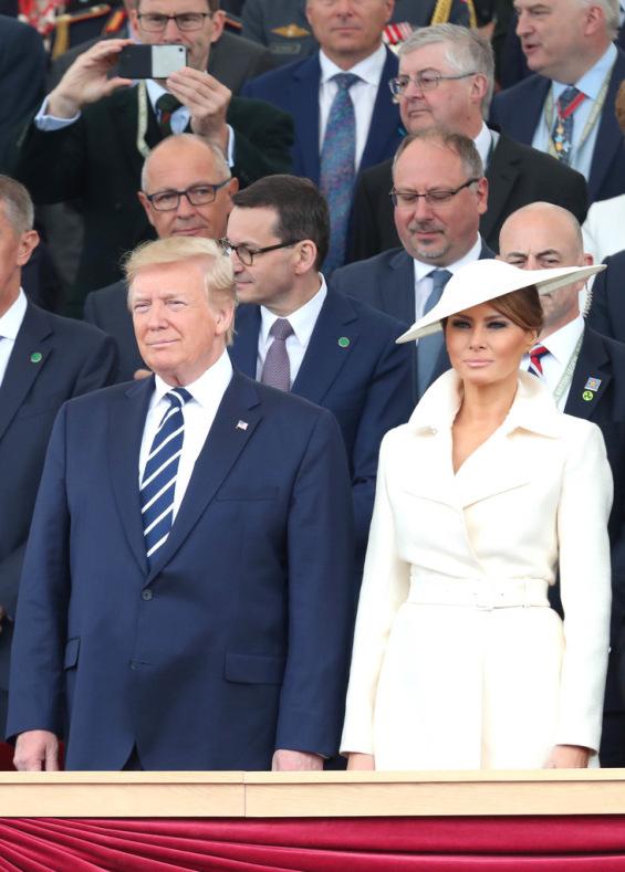 Доналд и Мелани�а Трамп
