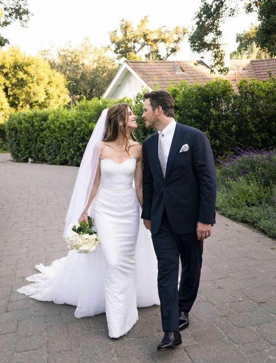 Крис Прат и Кетрин Шварценегер свадба