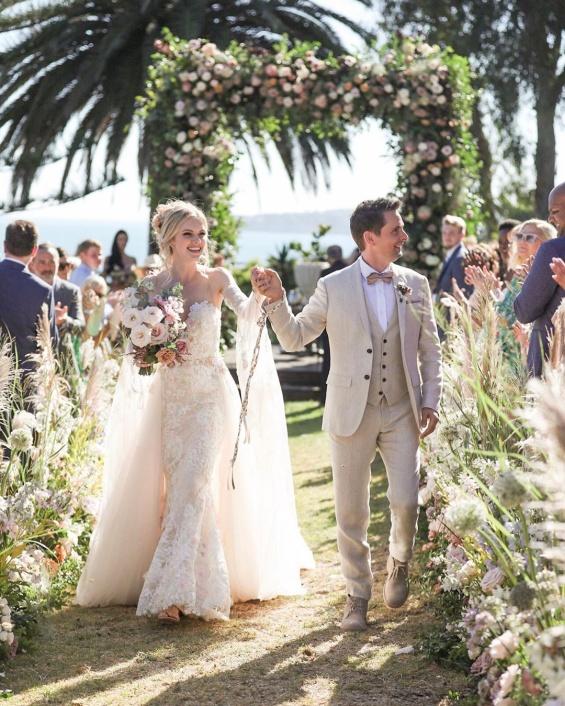 Мет Белами и Ел Еванс свадба