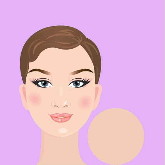 Накит според формата на лицето