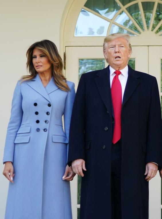 Доналд и Меланија Трамп со Реџеп и Емине Ердоган