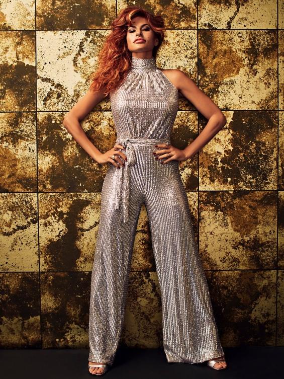 Модна колекција на Ева Мендес