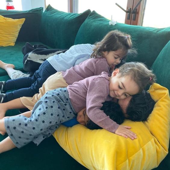 Џорџина Родригез со децата