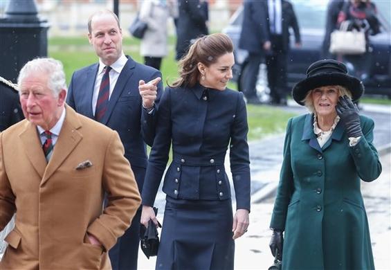 Војвотките Кетрин и Камила и принцовите Вилијам и Чарлс