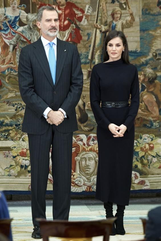 Кралицата Летиција и кралот Фелипе