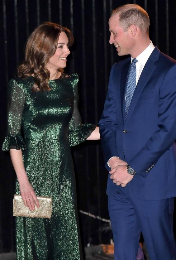 Војвотката Кетрин и принцот Вилијам