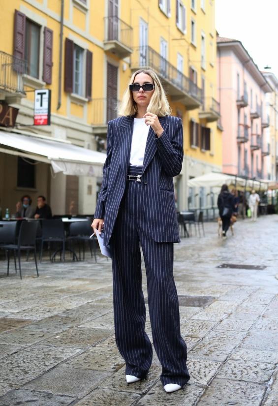 Уличниот стил на гостите во Милано