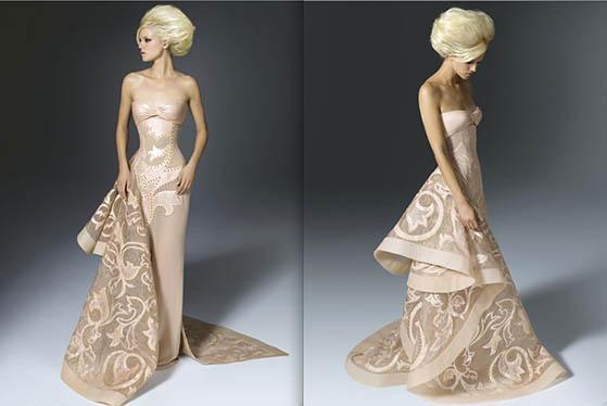 Фустан од Atelier Versace - колекција есен/зима 2011-2012