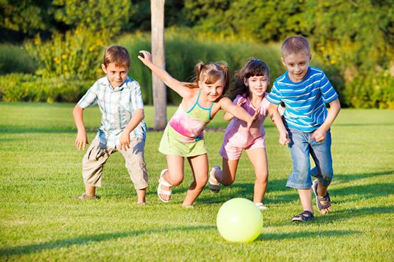 Деца кои спортуваат