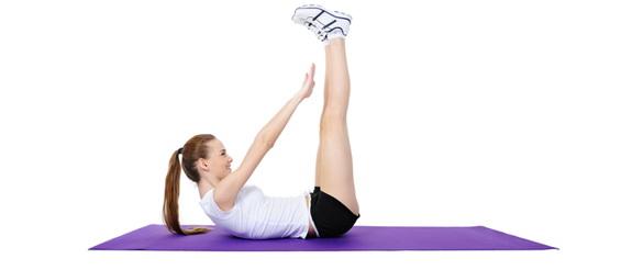 Жена што вежба