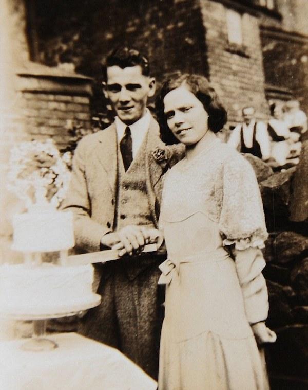Гленис и сопругот