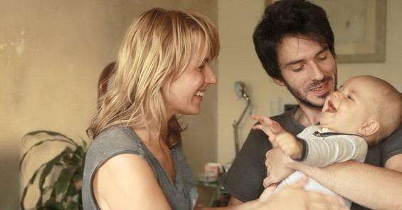 Лео со родителите